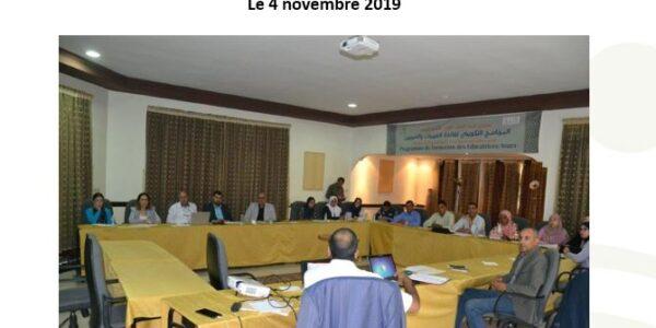 Projet de formation des éducateurs et éducatrices du préscolaire initié par le CDRT et financé par la Fondation ILLIS MONACO