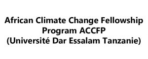 African Climate Change Fellowship Program ACCFP